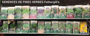 SEMENCES DE FINES HERBES Fothergills