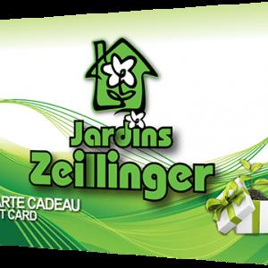 Carte Cadeau Jardin Zeillinger