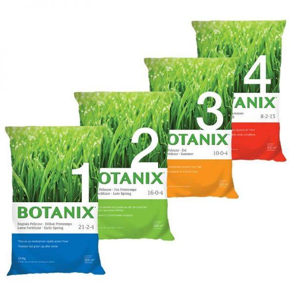 Engrais 4 étapes Botanix