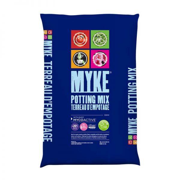 Terreau d'empotage organique Myke