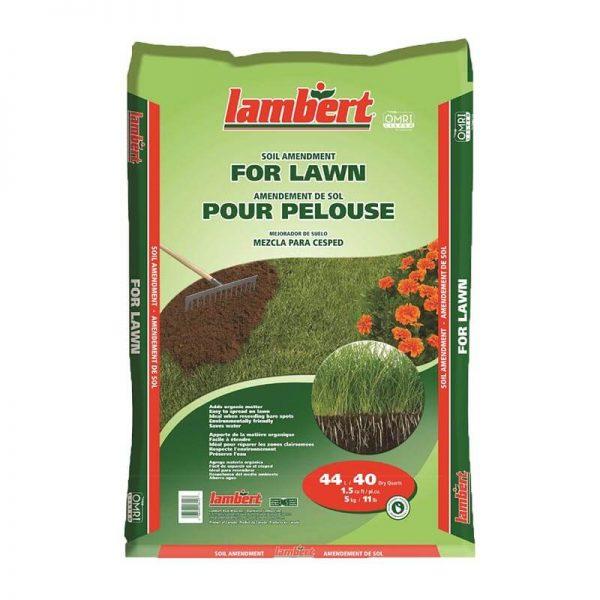 Terreau réparateur de pelouse