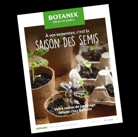 Botanix Cahier des semis