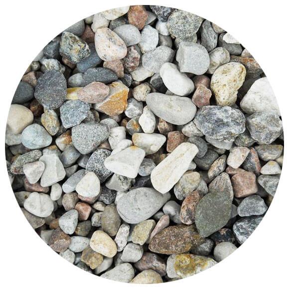 Gravier Ponce de Haute qualit/é 5-12 mm lav/é Der Naturstein Garten 10 kg Livraison Gratuite granul/és pour Plantes env. 13,5 litres